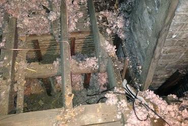 Attic insulation problem
